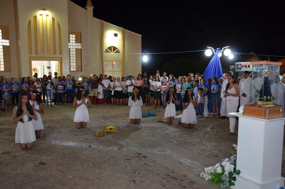 Jovens acolhem Nossa Senhora na Diocese de Picos66