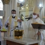 Diocese de Picos realiza Missa do Crisma com Renovação das Promessas Sacerdotais e Benção dos Santos Óleos
